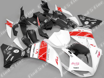 white red black for YAMAHA YZFR1 09-11 YZF R1 2009-2011 09 10 11 YZF-R1 2009 2010 2011 full motorcycle fairing kit