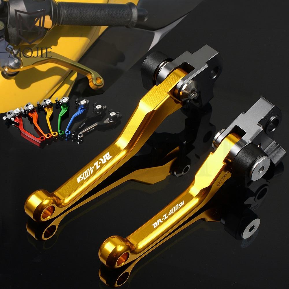 Occus Grips DR-Z for Suzuki DRZ 400S 400SM DR-Z 400 drz400 CNC Logo Alumiunm Plugs Motorcycle 7//8 22mm Handlebar Handle Bar Grips Cap Ends