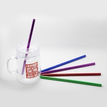 Colorful Aluminum Drinking Straws