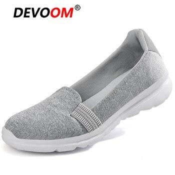 Alpargatas cómodas Unisex para mujer, zapatillas sin cordones, zapatos de plataforma plana,...