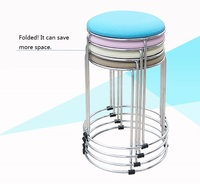 KTV Bar Stainless Steel Stool Children S Park Stool