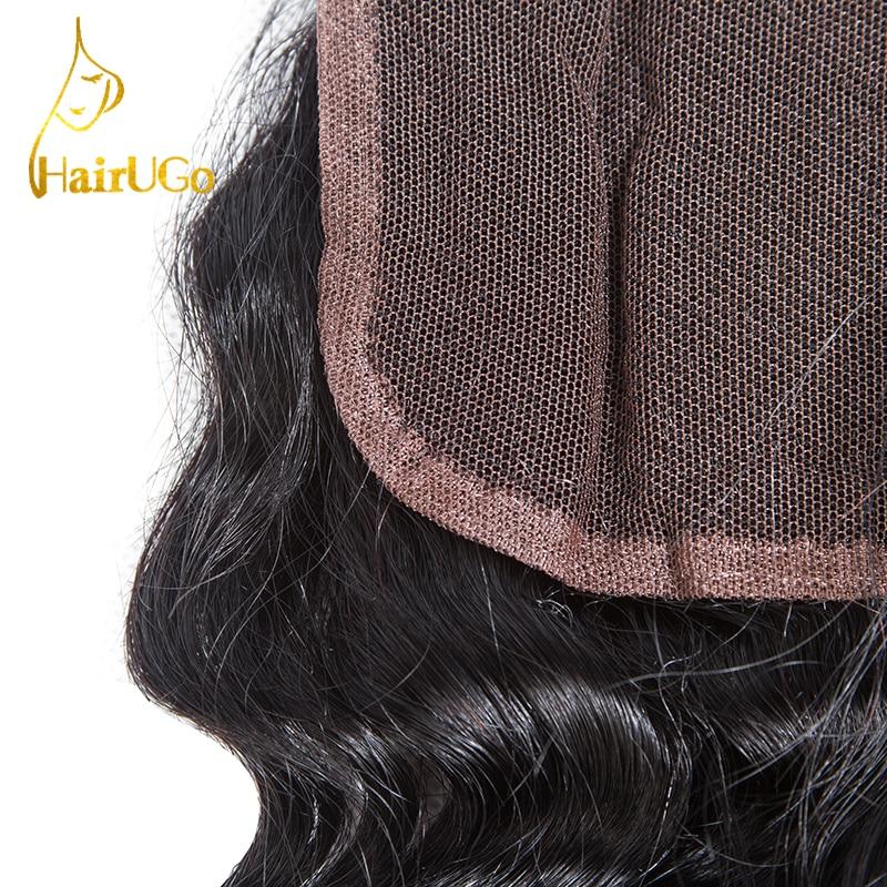 HairYou Pre-colored Malaysia Hair 100% Human Hair 4 Bundlar med - Mänskligt hår (svart) - Foto 5