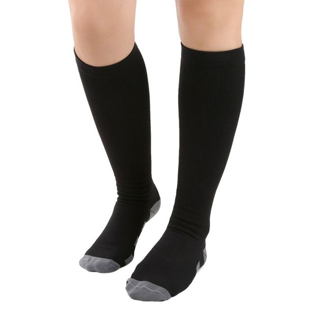 0425f8dc56b Unisex Stockings Breathable Knee Socks Orthopedic Support Stockings Hose  Flexible Compression Sock