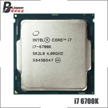 I7-6700k procesador Intel Core i7 6700K 4,0 GHz Quad-core quad-threaded 65w CPU LGA 1151