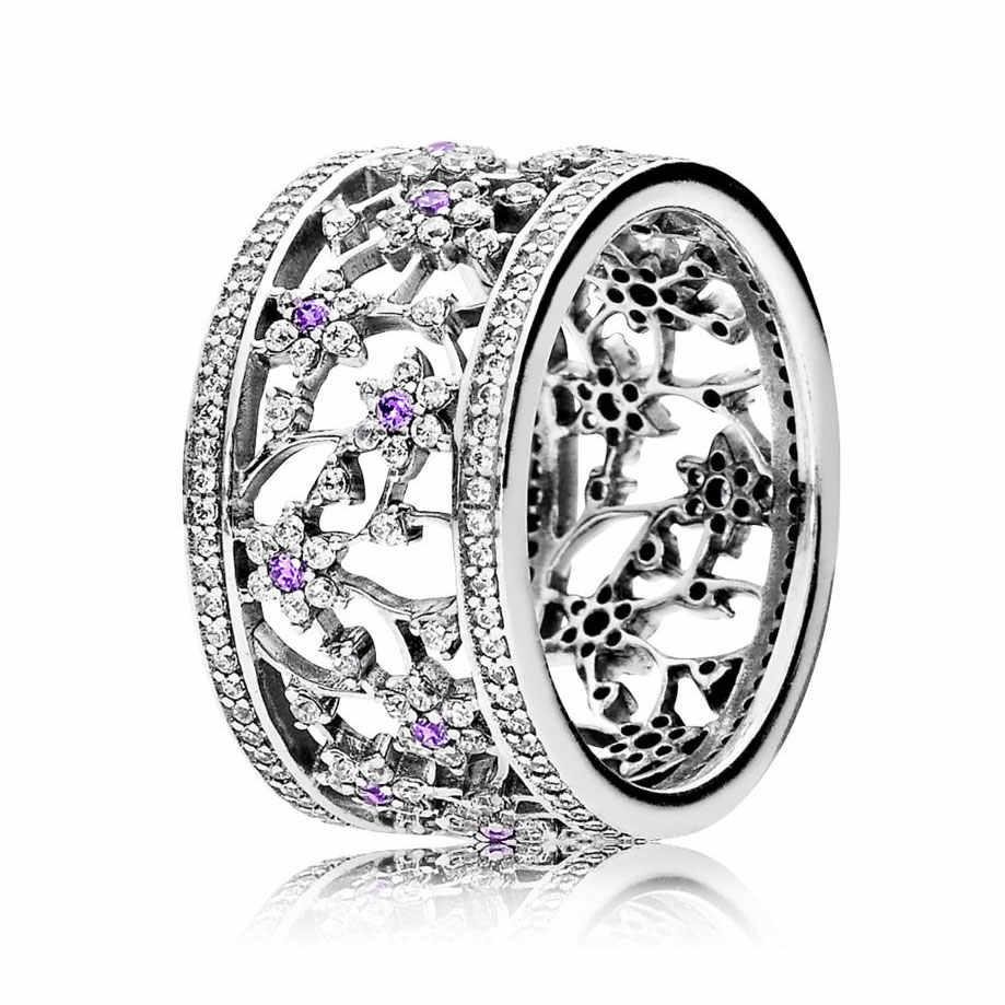... Перламутровые сердца переплетая Серебряные кольца 925 пробы серебро  кольцо печатка для Для женщин Свадебные украшения DIY 7f6b8e89a13