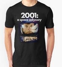 Creative  Short Sleeve 2001 A Space Odyssey Sci Fi Movie Film Retro Vintage 1960'S Birthday Short Crew Neck T Shirts