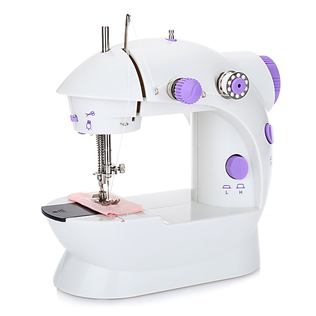 Mini Convenient Automatic Thread Sewing Machine Double Speed Control Simple Button Sewing Machine For Sale