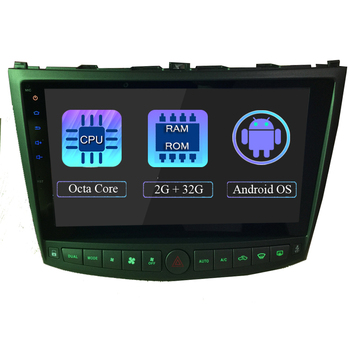 """WANUSUAL 10.1"""" Octa Core 2+32GB Android 8.1 Car Radio Head Unit for Lexus IS350 IS250 2005 2006 2007 2008 2009 3G BT WIFI Maps"""