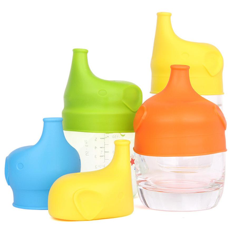 Cover Safety For Kids Silicone Sippy Lids - Make Most Cups a Sippy Cup Leak Proof Eco-Friendly 2017A27