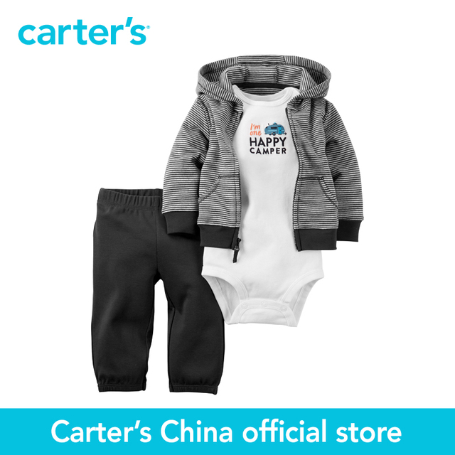52ebda0cb Carter's 3 pcs baby children kids Babysoft Cardigan Set 126G286, sold by  Carter's China official store