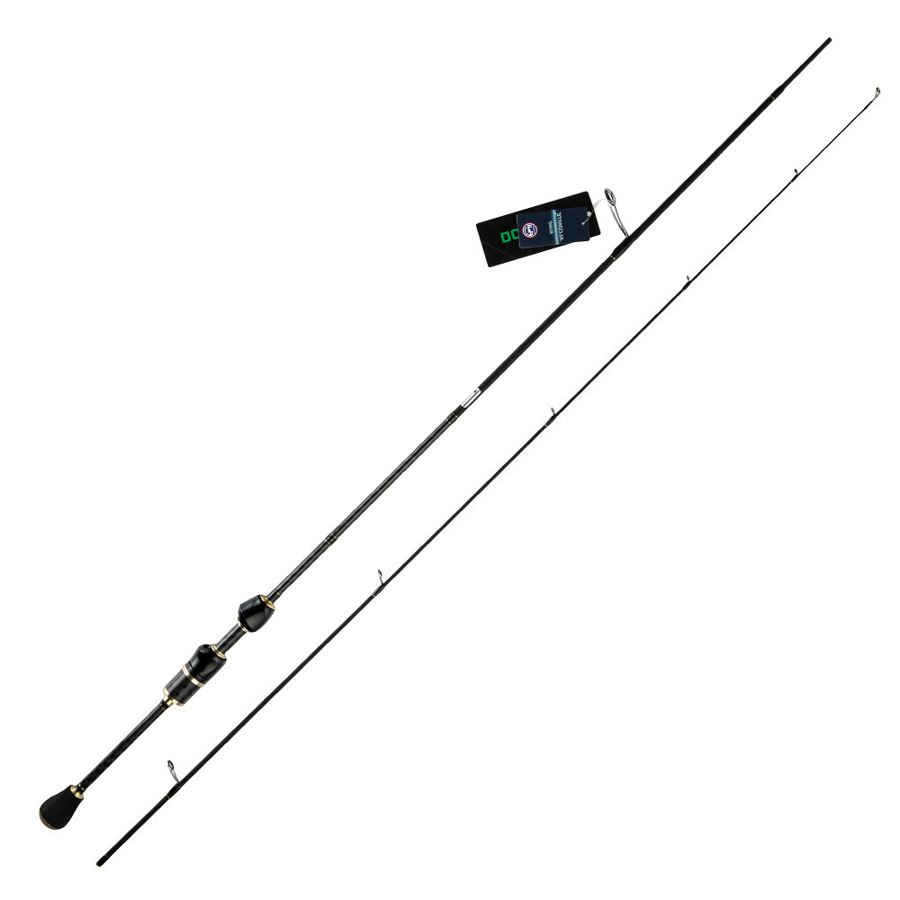 Spinning rod UL Fishing Rod 1.87m/ 2.1m Fast Action Fuji guides 1-6g/8g Ultra Light Weight 2 Sections Carbon Fishing Rod Ascent top 2 74m brave spinning fishing rod fuji guides 98