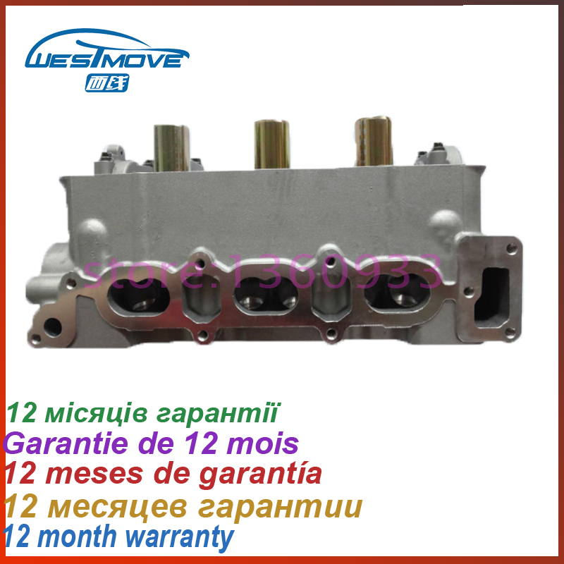 cylinder head FOR Suzuki Carry pick-up <font><b>660CC</b></font> 0.7L Petrol L3 SOHC 12V 1990- ENGINE : F6A 11100-71G01 1110071G01 11100 71G01 image