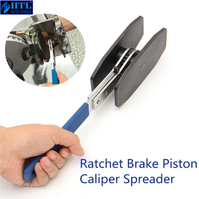 US $21 62 6% OFF|270mm Car Ratchet Brake Piston Caliper Spreader Tool  Stainless Steel Brake Caliper Press single twin quad pistons Install  Tool-in