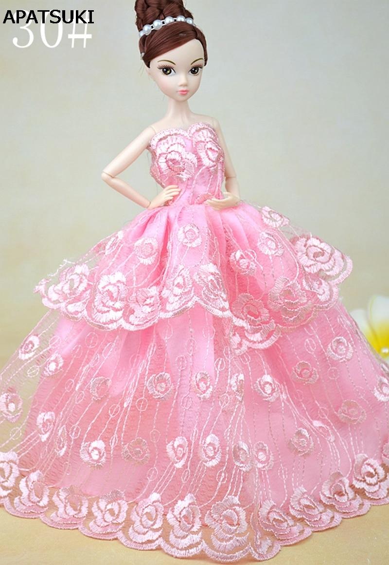 Medium Crop Of Pink Wedding Dress