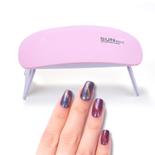 Купить с кэшбэком 9W Nail Dryer LED UV Lamp Micro USB Gel Varnish Curing machine for Gift Home Use Nail Art Tools nail for lamp