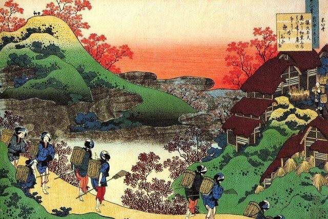 Asiatische Bilder Auf Leinwand leinwand poster asiatischen gemälde kunst japanischen menschen