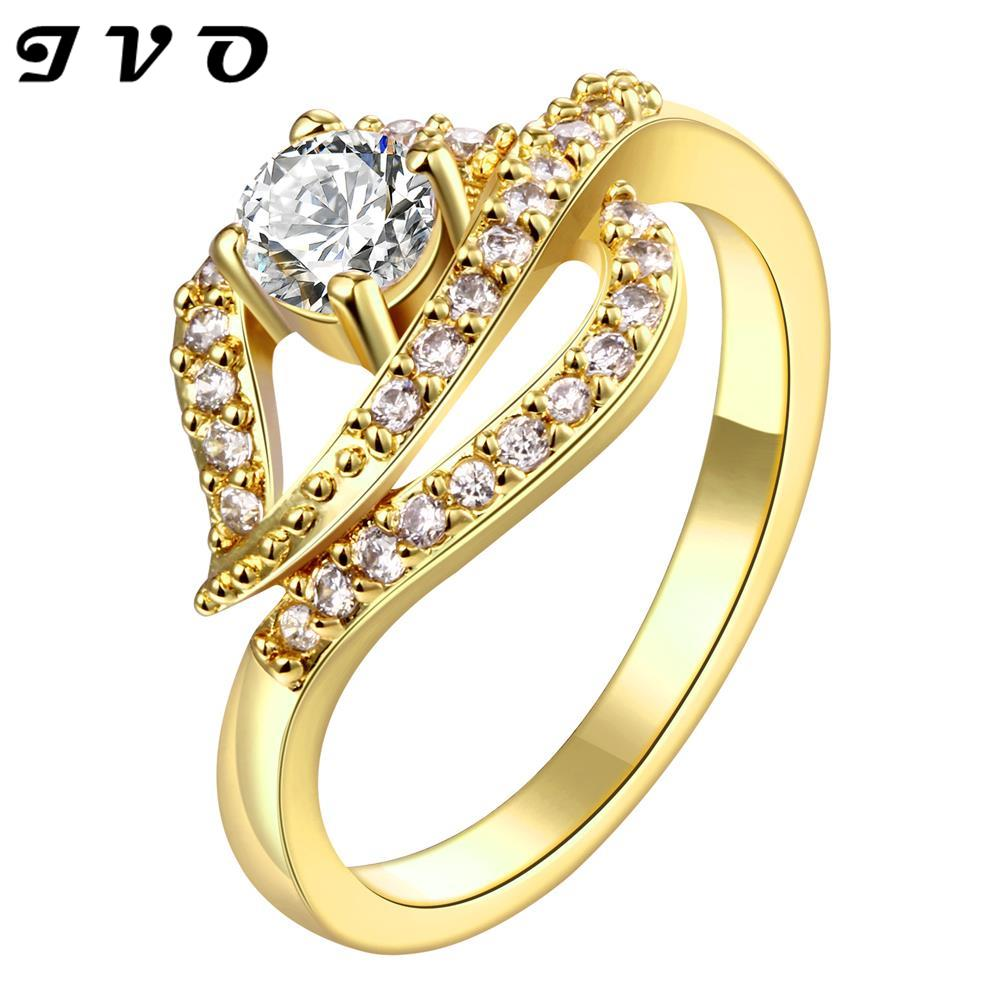 wholesale fashion gold rings new hot sale factory price