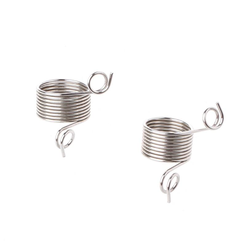 Stainless Steel Yarn Threader Finger Ring Wool Thread Thimble Knitting Sew Tool