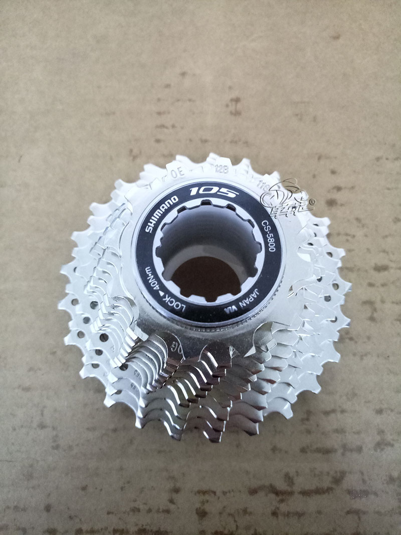 SHIMANO 105 CS-5800 11S Speed 12-25T 11-28T 11-32T Road Bike Cassette Bicycle Freewheel