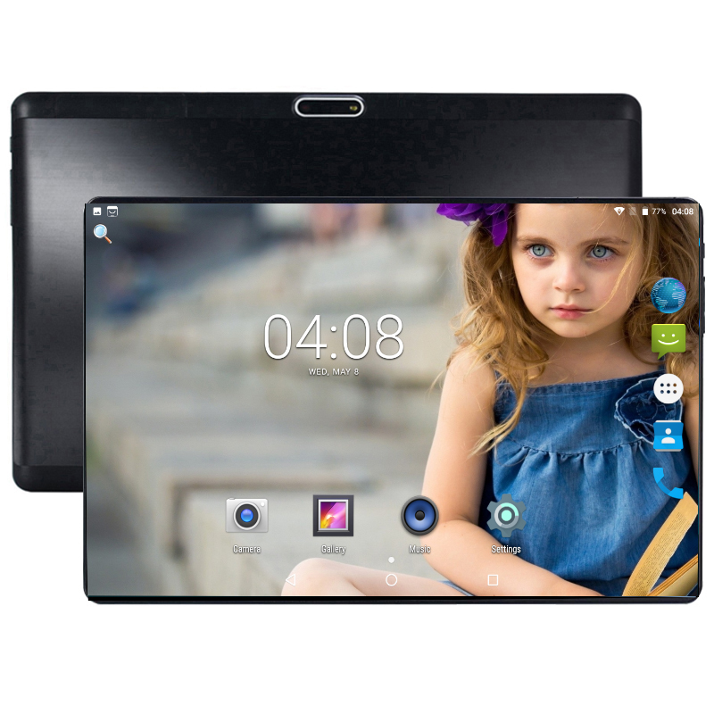 10 Inch Tablet PC Octa Core 4GB RAM 64GB ROM 5.0MP Android 8.0 GPS 1280*800 IPS Dual SIM Cards 3G WCDMA GPS Tablets PC+ Gifts