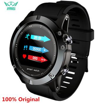AMYNIKEER L11 smart watch IP68 waterproof heart rate blood pressure pedometer Bluetooth men's outdoor sports smart watch PK CF58