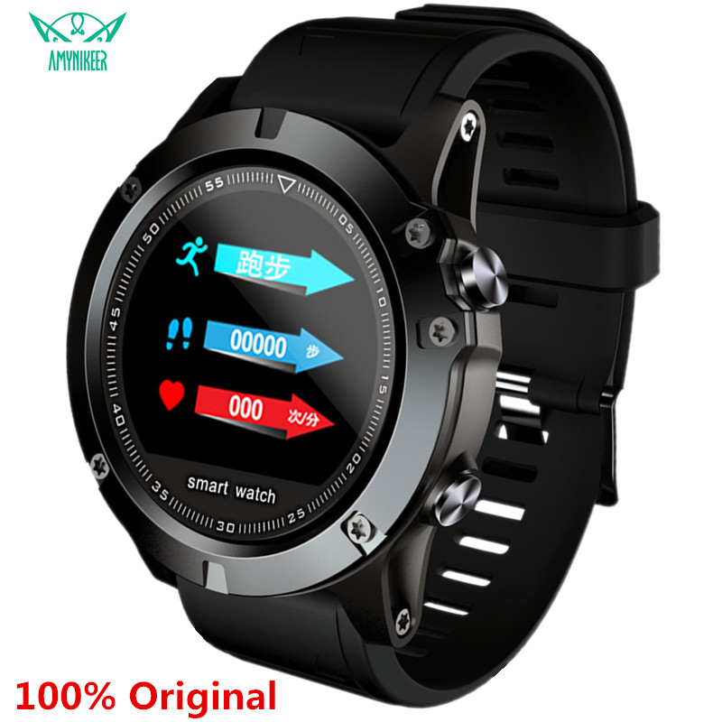AMYNIKEER L11 smart watch IP68 waterproof heart rate blood pressure pedometer Bluetooth men's outdoor sports smart watch PK CF58