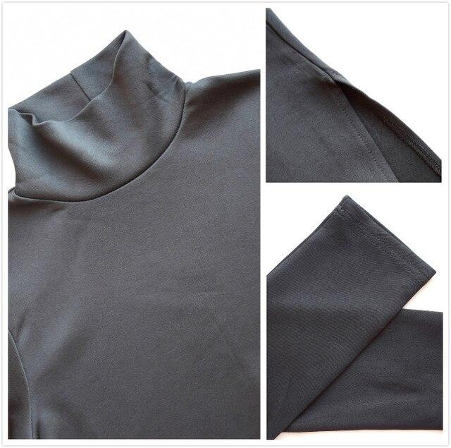 Women Fall Fashion Plus Size Dress Autumn Asymmetrical Turtleneck Pullover Fall Clothes Winter Oversize Maxi Long Dress Elegant 5