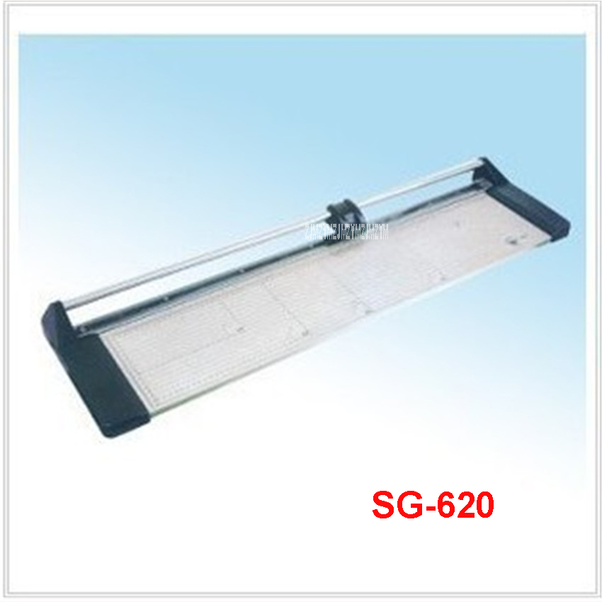 NEW Discount Portable 24 inches 620MM Manual Rotary Professional Paper PVC Cutter Trimmer SG-620 Roller Paper Trimmer 8 sheets new discount portable 48 inches 1200mm manual rotary professional paper pvc cutter trimmer sg 1200 roller paper cutter 8sheets