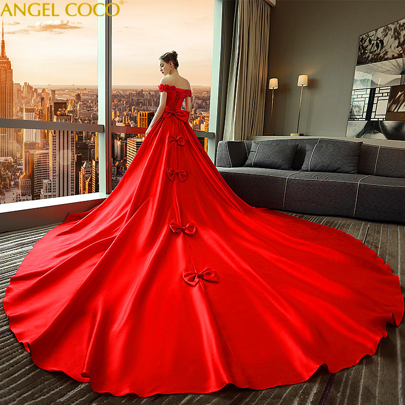 Custom Large Size Maternity Dress Gown Wedding Dresses Party Pregnant Women  Clothes Long Strapless Maternity Pregnancy d00228912696