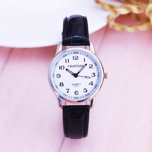 2018 Top Brand Kids Children Fashion Watches Quartz Leather Strap Wrist Watch Bo
