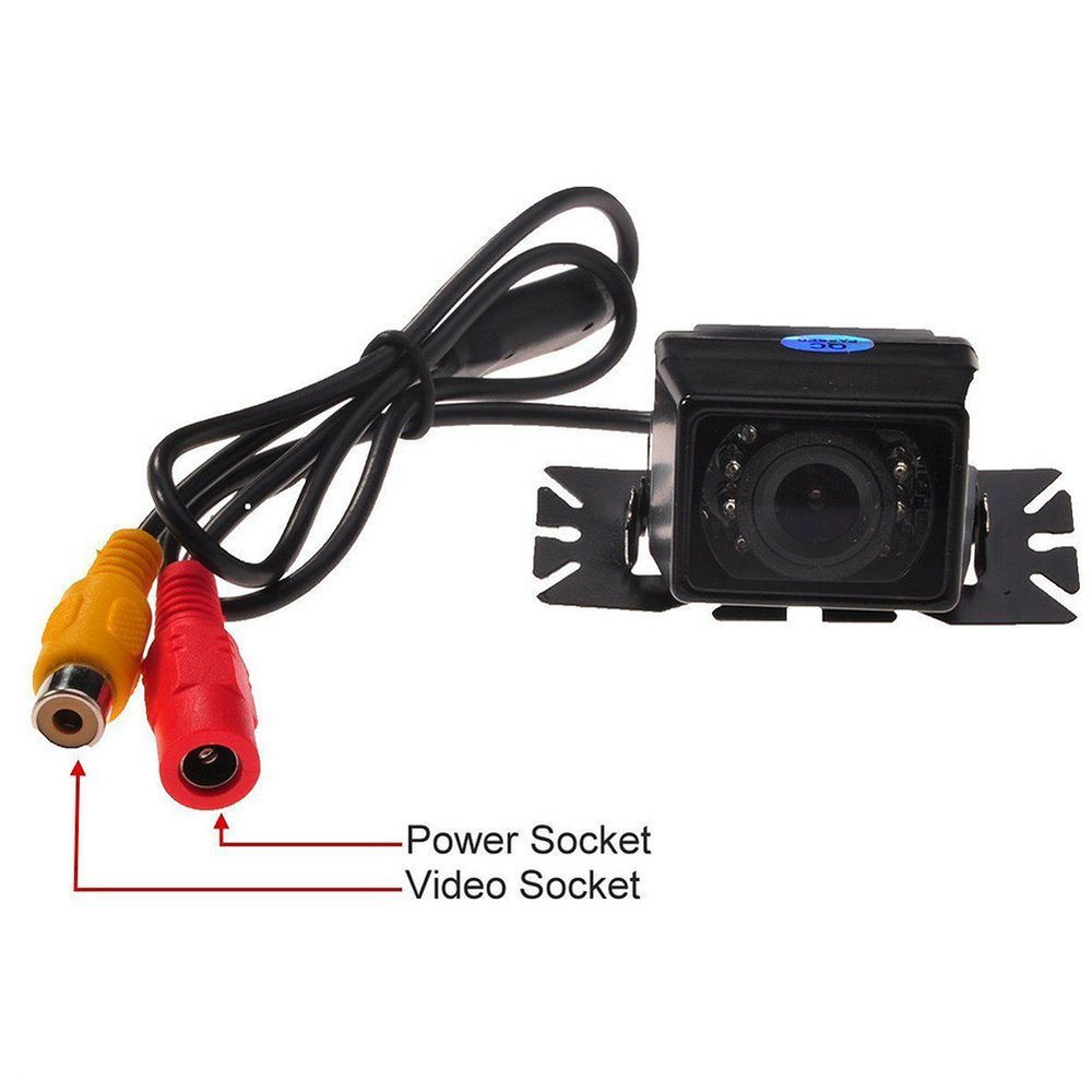 2017 Parking Waterproof CCD Universal HD Car Rear view BackUp Reverse Night vision Auto Camera For Audi/Ford/Toyota and all car Karachi