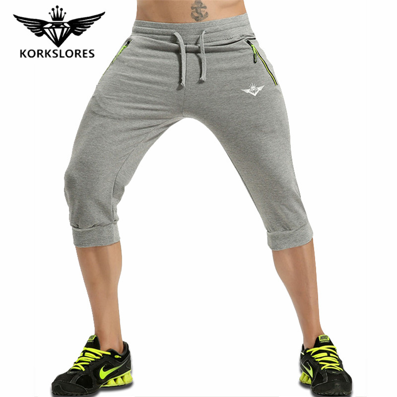 KORKSLORES Gyms Bodyengineers 2017 New Men Fitness Summer To Train Aesthetic Bodybuilding Drawstring Casual Board Shorts