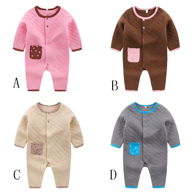 environmental pure color, childrens clothing wholesale clothing climb clothes jumpsuit Q ...