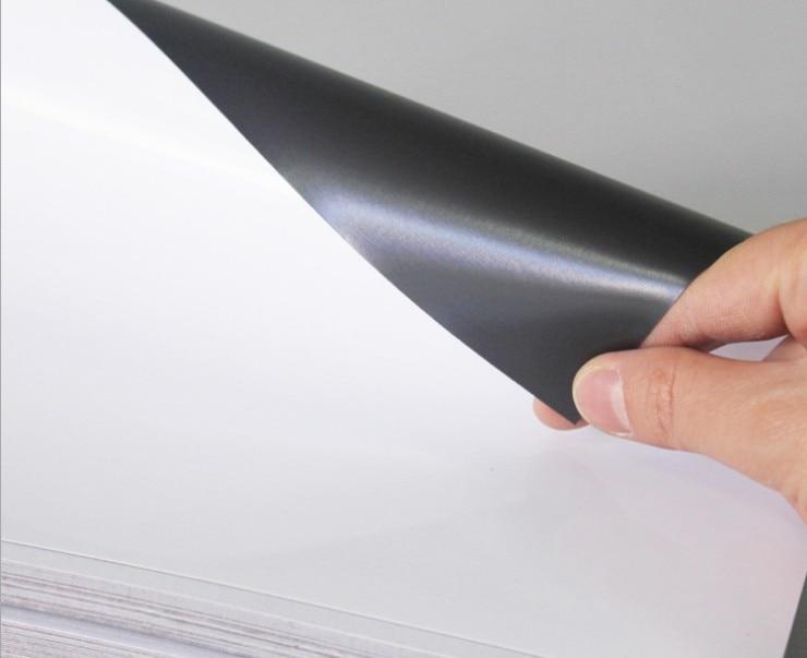 Printable Magnet Sheets A4 Ink Jet Printable Flexible Magnet Semi-Gloss Photo Paper ,DIY Fridge Magnet, 5 Sheets Per PackSHP1012