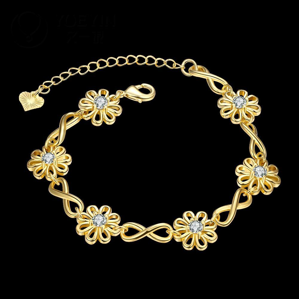 Luxurious jewelry rose gold color bracelets Bengals for women ...