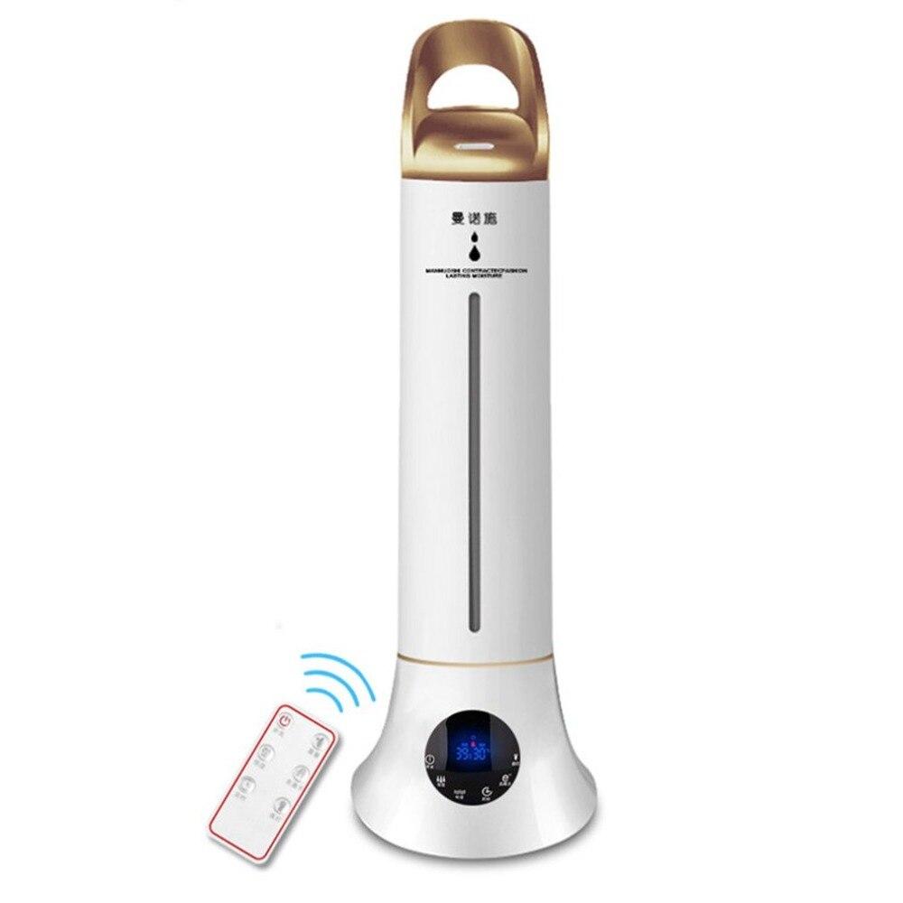 MNS-01 Intelligente Ad Ultrasuoni Umidificatore Ad Alta Capacità Aromaterapia Macchina Mute Purificatore D'aria di Temporizzazione Diffusore per Home Office