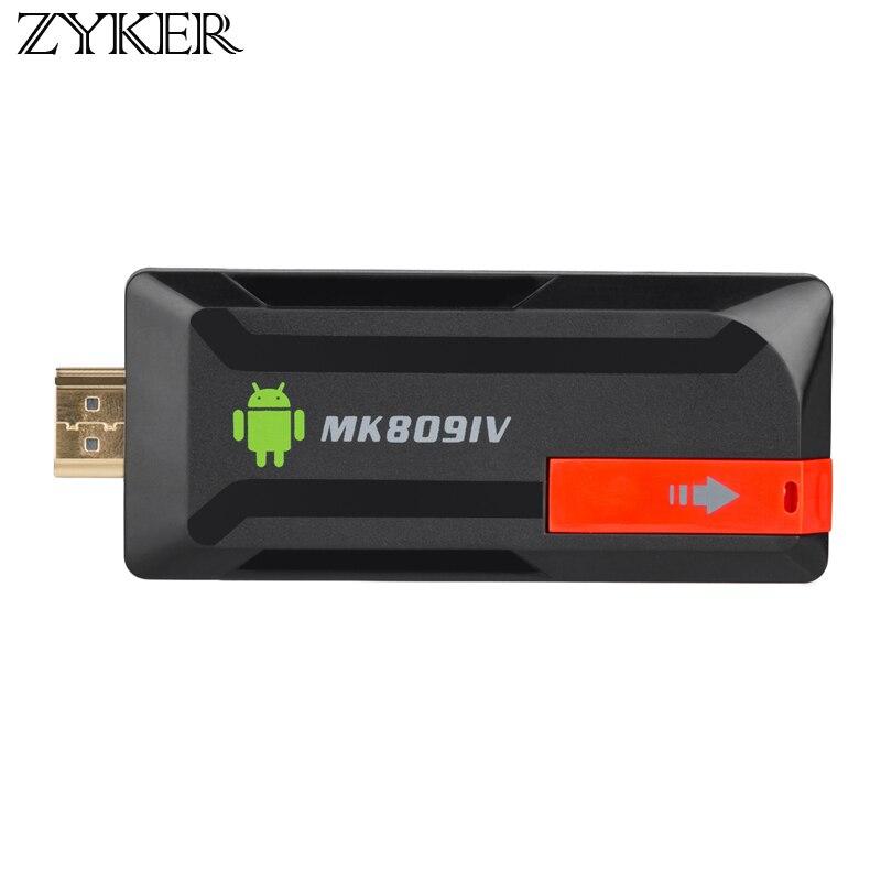 Android 5.1 TV Dongle STICK MK809IV Mini PC 4K RK3229 Quad Core 2GB 8GB Miracast WiFi Smart Media Player