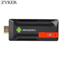 Android 5.1 TV Dongle STICK MK809IV Mini PC 4 Karat RK3229 Quad Core 2 GB 8 GB Miracast WiFi Smart Media Player