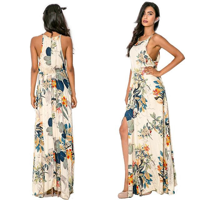 Flower Silk Dress Picture More Detailed Picture About Hot Sale 2015 Summer Style Fashion Beach