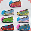 Chinese Classical Drama Artistes Embroidered Shoes High Heeled Shoes In Tsing Yi Costume Tassel Ancient China