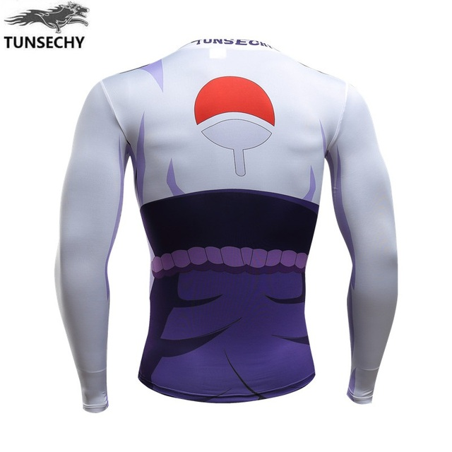 Naruto Blare People Nine-Tailed Fox 3D digital Printing Long Sleeve T-shirt