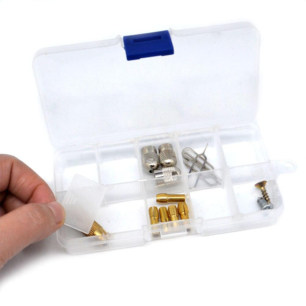 Мини Водонепроницаемый контейнер прозрачный Коробки для инструментов электронный Пластик Запчасти Toolbox шкатулка SMD SMT винт компонента чехо...
