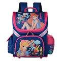 Детские школьные сумки для девочек  ортопедические рюкзаки  детский Ранец принцессы с рисунком для девочек  ранец Mochila escolar