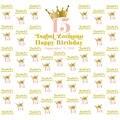 Custom Mis Quince золотая корона принцессы с 15 днем рождения фото студия фон Высокое качество компьютерная печать Вечеринка фон
