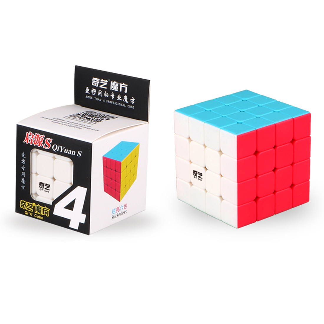 2017 Yeni QiYi Yuan S 4x4 Magic Cube Puzzle Speed - Bulmacalar - Fotoqrafiya 6