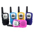 2 pcs mini walkie talkie rádio crianças retevis rt-388 0.5 w 22ch vox eua freqüência portátil presunto rádio transceptor hf a7027a