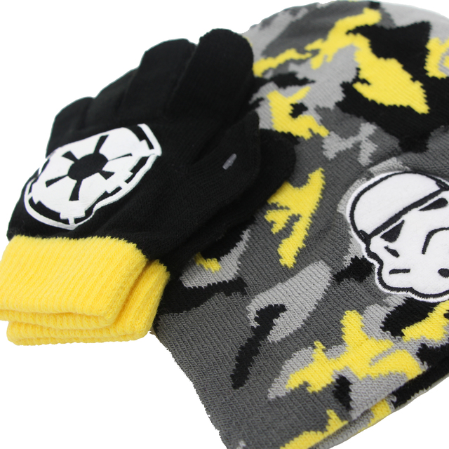 Star Wars Winter Hat & Gloves Set (Kids)