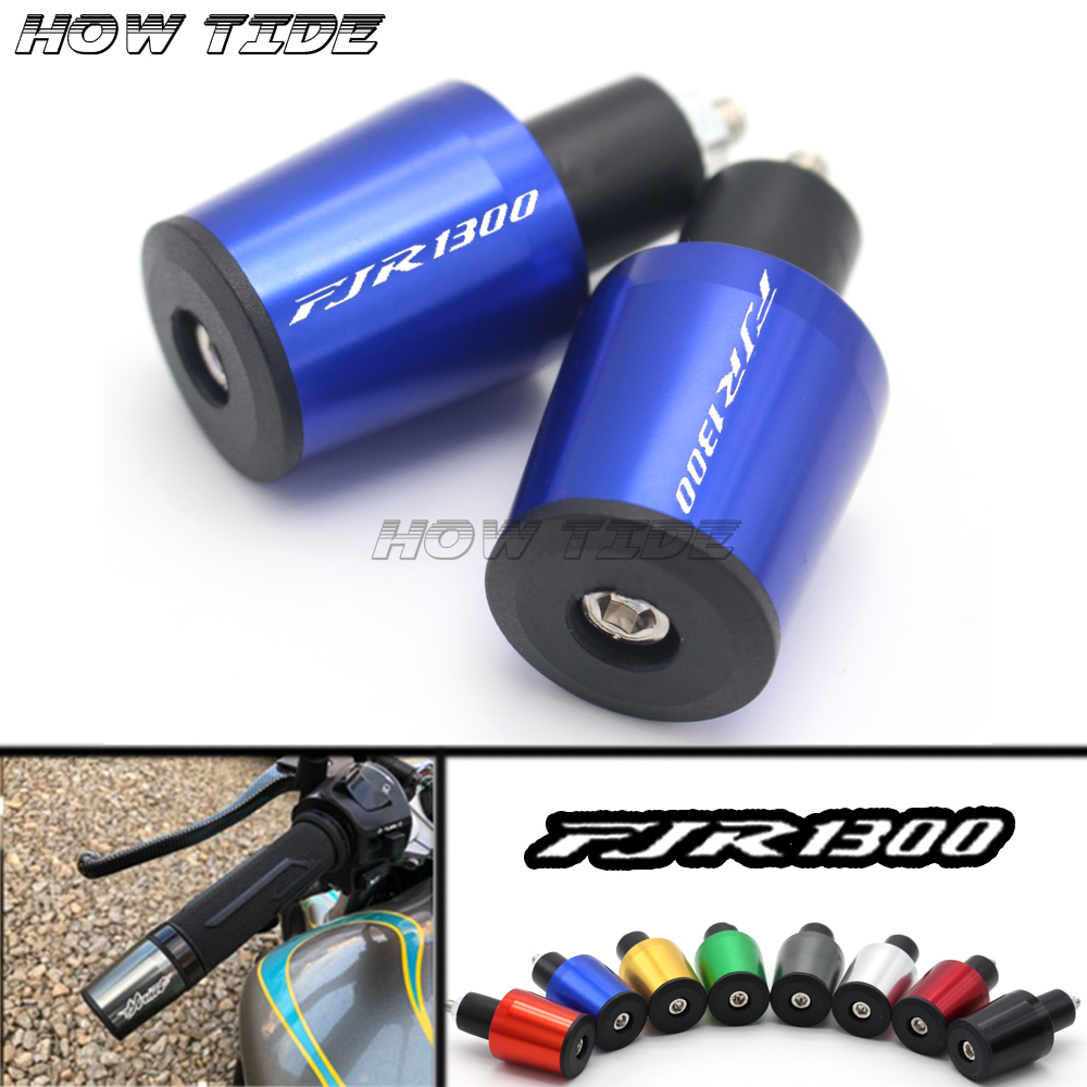 For <font><b>Yamaha</b></font> FJR1300 FJR 1300 2004-2017 2008-2016 <font><b>Motorcycle</b></font> Accessories 7/8'' 22MM Handlebar <font><b>Grips</b></font> Handle Bar Cap End Plugs image