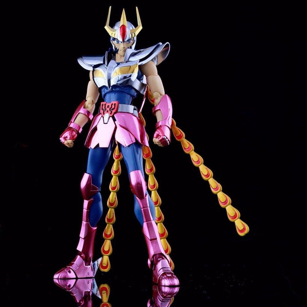 Collections Saint Seiya Phoenix Ikki Action Figure Toys Helmet Metal Armor Cloth Myth Bronze Cloth TV Version Colletible Model стоимость