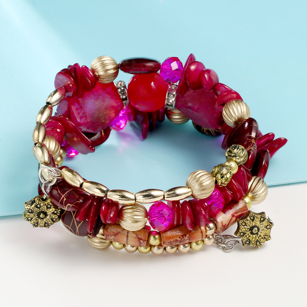 Bohemian fashion charm bracelets for women 7